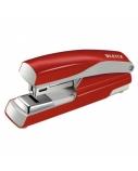 Segiklis Leitz Flat Clinch 5505, raudonas, iki 30 lapų, sąsagėlės 24/6 arba 26/6, metalinis  1102-12
