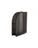 Stovas dokumentams Forpus, 7cm, juodas, perforuoto metalo  1003-012