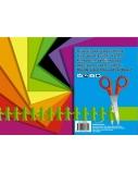 Kartonas SMLT, A4, 190 g, spalvotas, dvipusis, (8)  0708-103