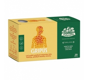 ŽOLYNĖLIS Žolelių arbata Gripus, 30g (1,5x 20)