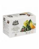 """ŽOLYNĖLIS Vaisinė arbata """"Vasaros skonis"""" su mėtomis ir citrus. vaisiais, 50g (2,5g x20)"""