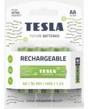 Baterija Tesla AA Rechargeable+ HR06 2400 mAh 4 vnt.