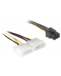 DELOCK powercable for PCI Expcardn15cm