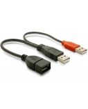 DELOCK USB data- and power cable