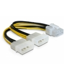 DELOCK Cable PCIe power suply 8p>2x5,25Z