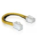 DELOCK Cable Power 8pin EPS >4pin ATX/P4