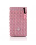 BONE BAG FOR MOBILE PHONE PINK