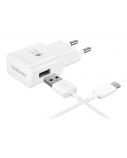 SAMSUNG micro usb rapid charger white