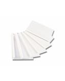Aplankas terminiam įrišimui LUX A4, 6 mm, baltas (100 vnt.)  0508-304