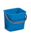Plastikinis kibiras, mėlynas, 12l