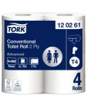 Tualetinis popierius rulonais Tork Advanced Extra Long T4, 2sl. (24 rulon.)