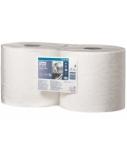 Popierinės šluostės rulonais Tork Advanced Wiper Performance 430 W1/W2, 2sl. (2 rulon.)