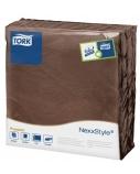Stalo servetelės Tork Premium NexxStyle, 38x39cm, kakavos spalvos, 2sl.