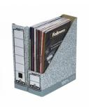 Stovas dokumentams Fellowes kartoninis, sulankstomas, 78mm, pilkas