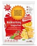 """Kukurūzų trapučiai su pomidorų prieskoniais """"Saulės grūdas"""", 14 vnt. po 60g"""