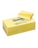 Lipnūs lapeliai Tartan, 38x51mm, geltoni (1x100)  0717-300