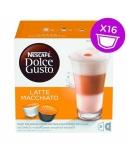 NESCAFE Dolce Gusto Latte Macchiato kava 16 kapsulių dėžutėje, 1 vnt.
