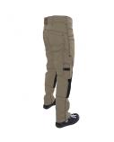 Kelnės iš CVC 320 audinio (smėlio sp.), C60 dydis