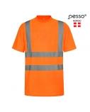 Marškinėliai PESSO Hi-vis,oranžiniai, S dydis