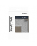 Ecovacs Cleaning Pad   W-S072  Washable and reusable microfibre, Winbot 850 Ecovacs, Grey