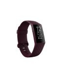Fitbit Charge 4 Fitness tracker, GPS (satellite), OLED, Touchscreen, Heart rate monitor, Activity monitoring 24/7, Waterproof, Bluetooth, Rosewood