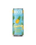 """Karibų vaisių funkcinis gėrimas su kofeinu, becukris """"Nocco su bcaa"""", 24 pak. po 330 ml, (kaina nurodyta su užstatu už tarą)"""