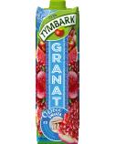 """Granatų-vynuogių-obuolių-greipfrutų gėrimas 24% """"Granat"""", Tymbark, 12 pak. po 1 L"""