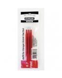 STANGER Gelinė šerdelė rašikliui Eraser 0.7 mm, raudona, pakuotėje 3 vnt 18000300082
