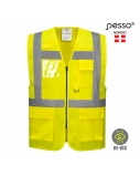 Liemenė Pesso signalinė geltona, XL dydis
