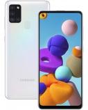 "Samsung Galaxy A21s (White) Dual SIM 6.5"" PLS TFT 720x1600/2.0GHz&2.0GHz/32GB/3GB RAM/Android 10/microSDXC/WiFi,BT,4G"
