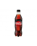 Gėrimas Coca Cola Zero pet 0,5 l x 12vnt. (kaina nurodyta su užstatu už tarą)