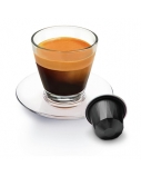 Belmoca Belmio Sleeve Espresso Ristretto Coffee Capsules for Nespresso coffee machines, 10 capsules, Coffee strength 10/12, 100 % Arabica, 52 g