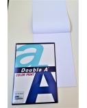 Double A sąsiuvinis užrašams, A4 formato, 90 gsm baltas popierius, 40 lapų.